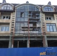 выполняем фасадные работы любой сложности. строительство жилых и нежил