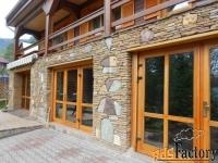 натуральный камень для фасадов