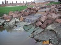 камень для ручьев и водоемов