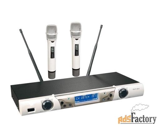 радио-микрофон tasso uf-888
