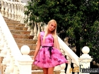 Стильное платье воздушное под крепшифон на подкладе