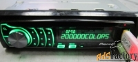 pioneer deh-6310sd разноцветный дисплей