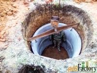 септики сливные ямы канализация на дачу в дом коттедж область проведем
