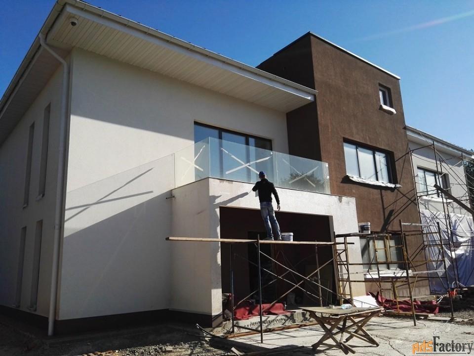 капитальный ремонт фасадов частных домов