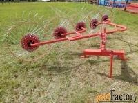 грабли-ворошилки колесно-пальцевые ( 2.4м 3.0м) d-pol
