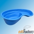 чаша пластиковая для декоративного пруда