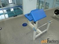 скамья скотта сс01 для упражнений на бицепс