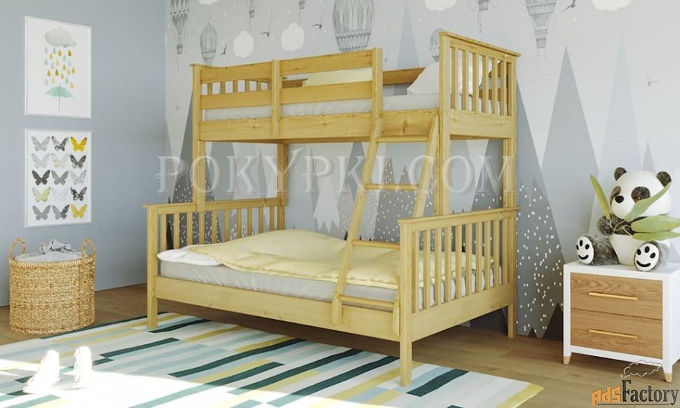 Двухъярусная детская кровать «Барселона»