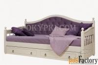 ника - кровать с тремя спинками