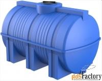 горизонтальная цилиндрическая емкость 3000 литров