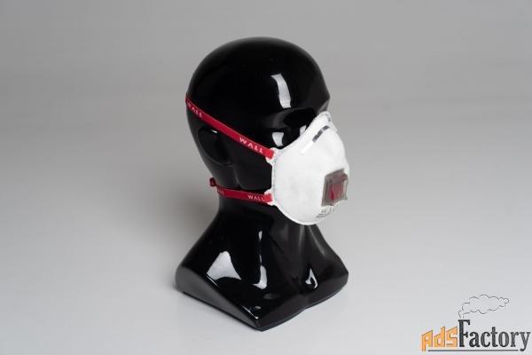 Респиратор WALL CUP 99HК+B FFP2 R D (доп. защита от неорганических газ