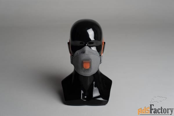 Респиратор полумаска трехпанельная WALL AIR 80CHK FFP1 NR D