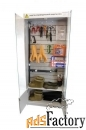 шкаф elma106 для хранения сиз закрытый 850*2000*300 мм