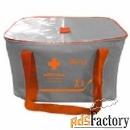 аптечка энергетика арт. 6508 футляр текстильный тип 24/5 цвет серый