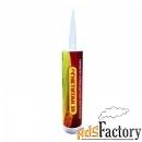 герметик огнезащитный нейтральный силиконовый огнетитан sn серый 310мл