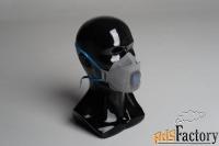 Респиратор полумаска трехпанельная WALL AIR 95CHK FFP2 NR D