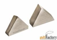 Вставки алмазные треугольные для токарных резцов