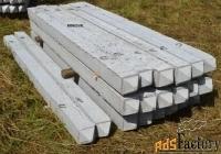 минисваи железобетонные сечением 200х200 и 150х150 мм.