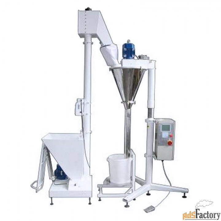 дозатор д-04 сер. п для фасовки пылящихся продуктов
