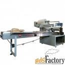 оборудование для упаковки хлебобулочных изделий и выпечки горизонтальн