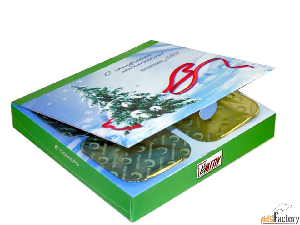конфеты «комильфо» с фирменной символикой вашей компании