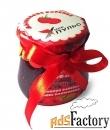 съедобные сувениры — варенье с логотипом