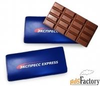 рекламный шоколад с логотипом