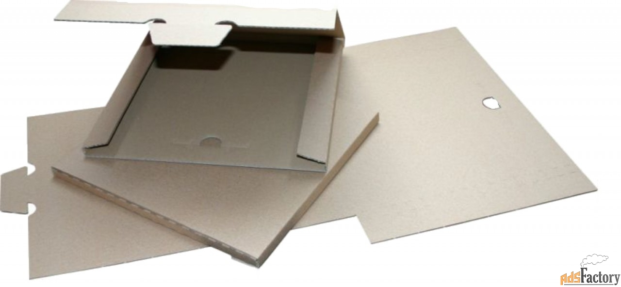 Упаковка для пересылки виниловых пластинок.