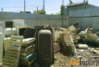 бесплатно вывезем из квартиры , дачи , гаража металлолом от 100 кг