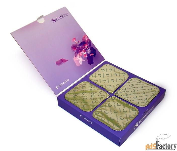 конфеты комильфо в упаковке с логотипом вашей компании