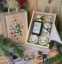 новогодние подарочные наборы из сибири