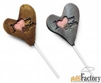 шоколадные валентинки для клиентов и коллег
