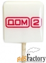 леденцы на палочке с логотипом компании