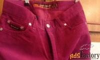 женские джинсы вельветовые