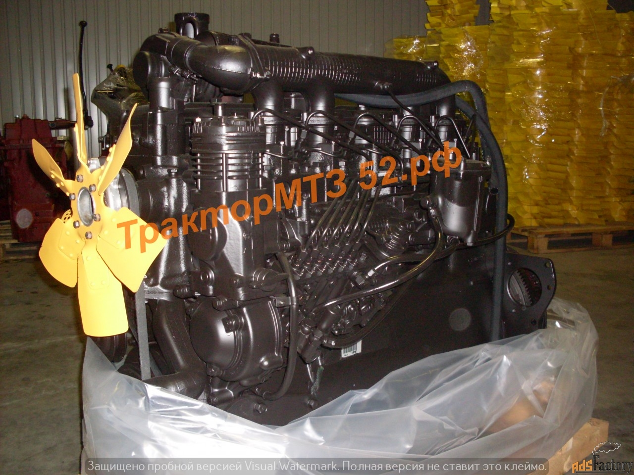 двигатель д-260 на мтз-1221
