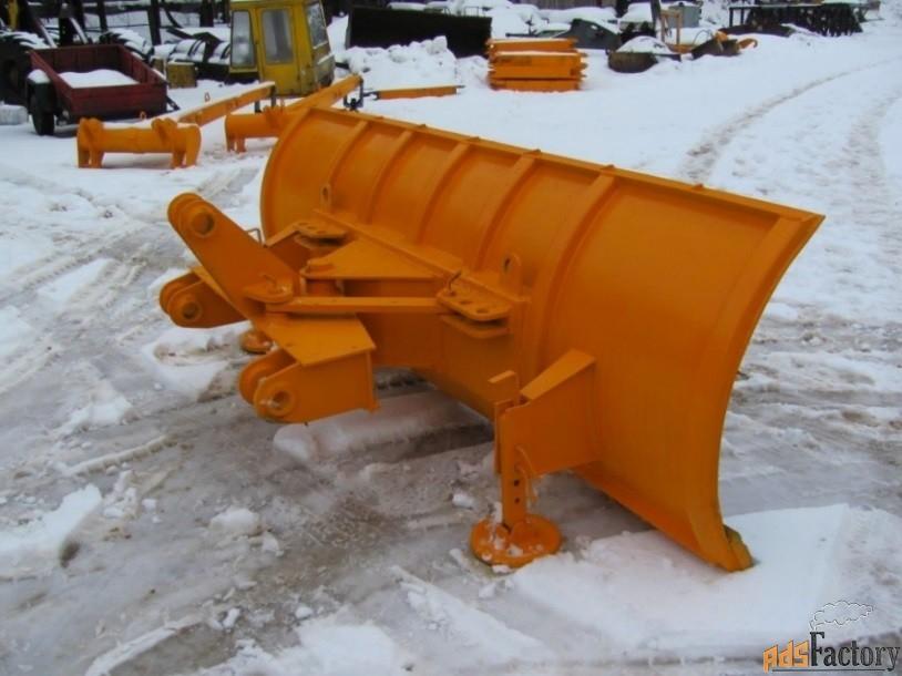 отвал снежный на погрузчики амкодор г/п от 3 до 5 т.