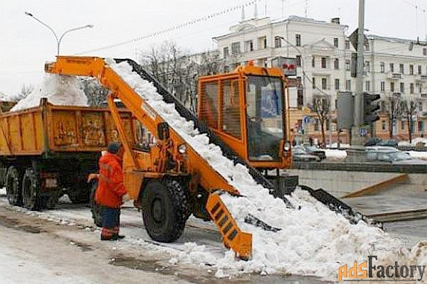 снегопогрузчик лаповый амкодор 37