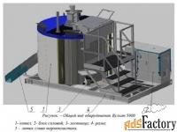 оборудование для приготовления термопластика стим «вулкан 5000»