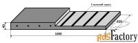 техпластина 1000х250х40, армированная тросом