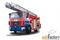 автолестница пожарная ал-30 маз-5340в2