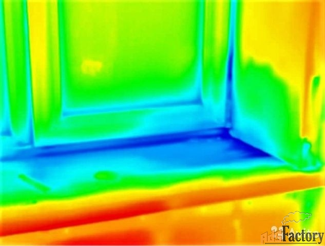 Тепловизионное обследование квартир и домов.