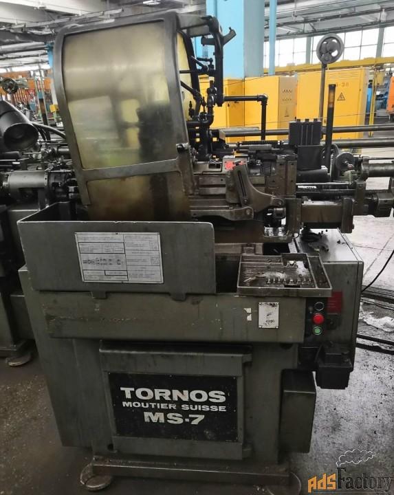 tornos ms7 токарный автомат