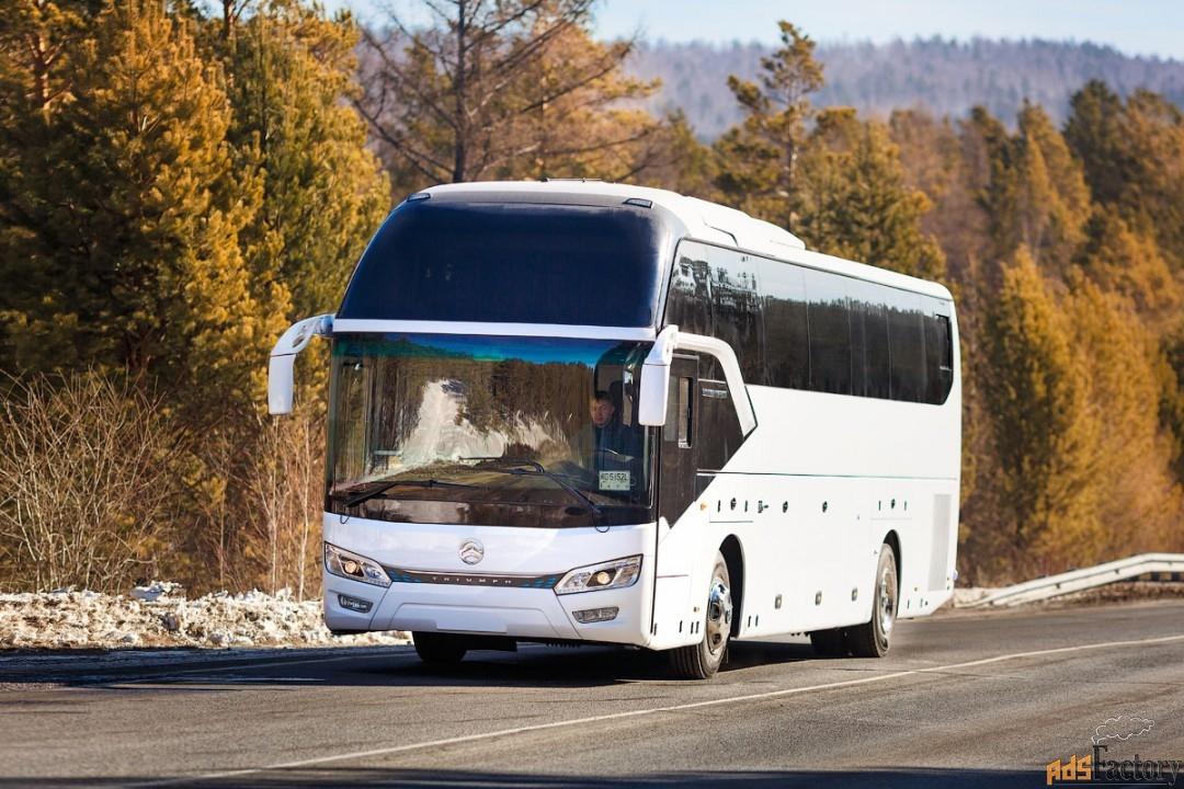 туристический автобус golden dragon xml 6126 jr triumph