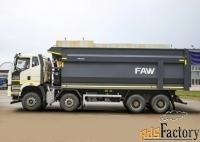 самосвал faw ca3310, j6p, 8х4, euro v, с кузовом амкаr