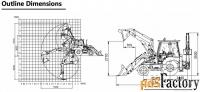 экскаватор-погрузчик xcmg xc870hk