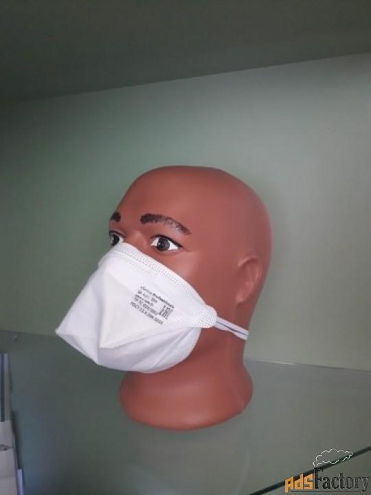 респиратор маска, защитные полумаски фильтрующие sp 204 ffp 2 nr d