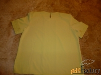 блузка abaka teks italy 50-52 короткий рукав.