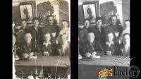 реставрация фотографий ретушь фото