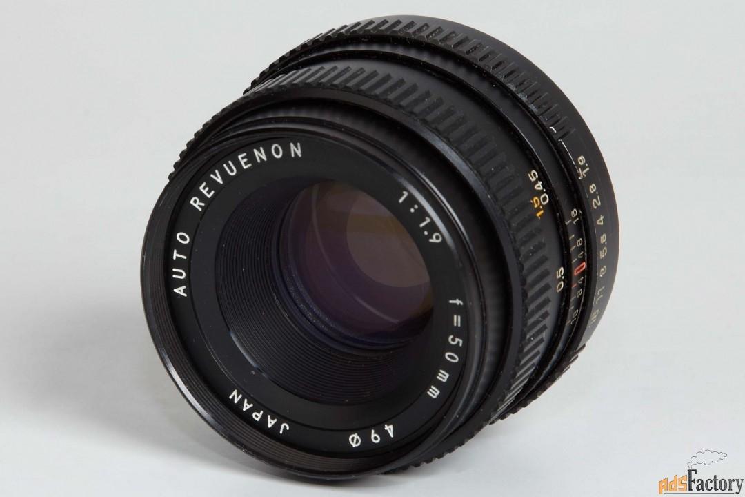 Объектив, Auto Revuenon 1:1,9 f=50 mm (Pentax)