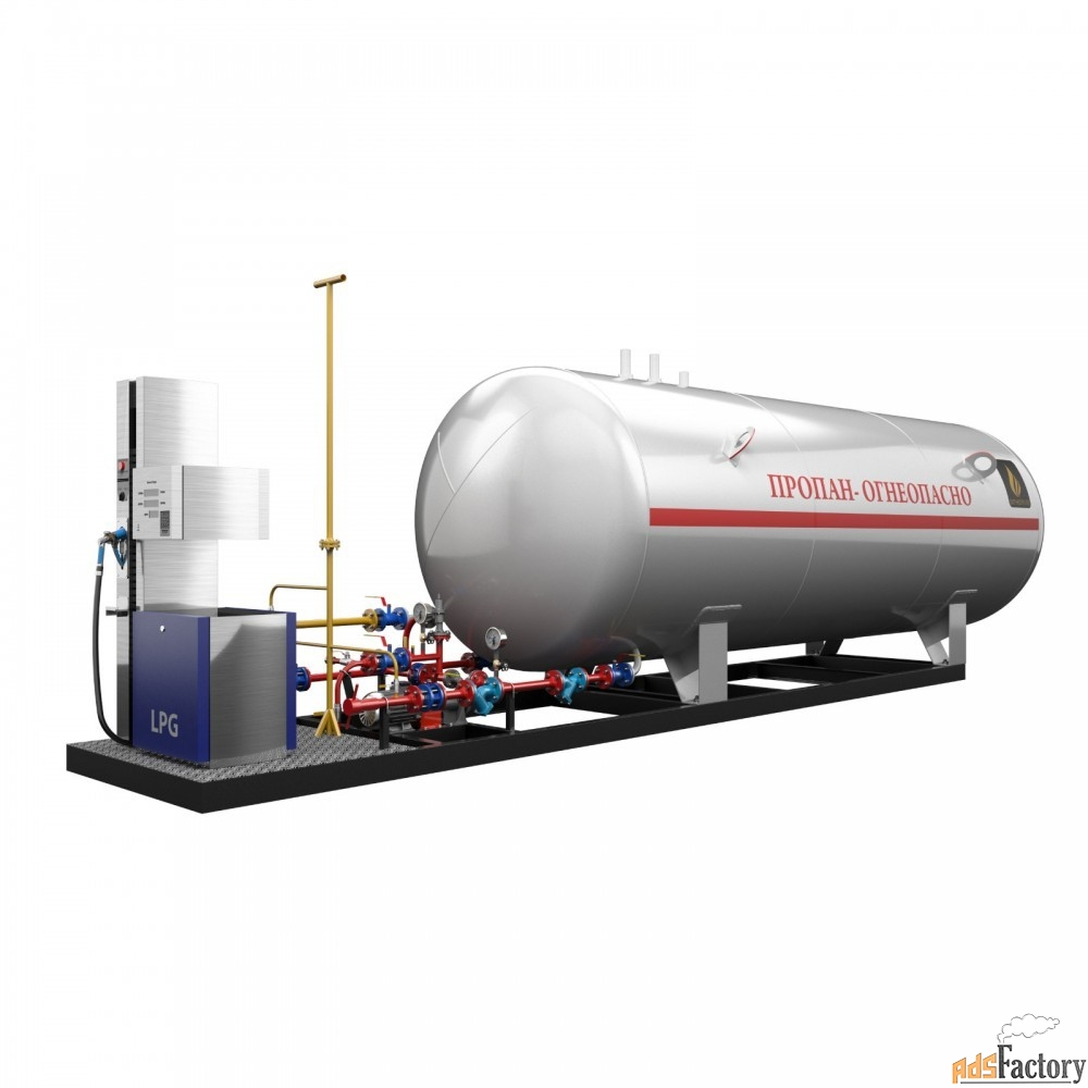 установка газовая моноблочная